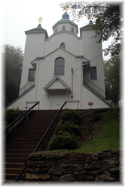Church in abandoned Centralia PA