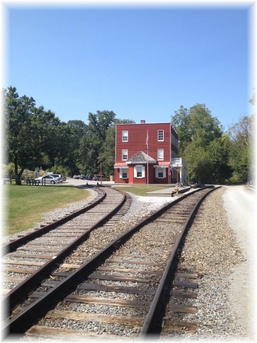 Hanover Junction Rail split on York Heritage Rail Trail 9/8/15