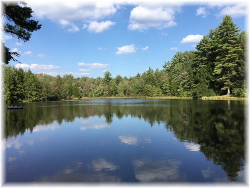 Hickory Run Lake, Poconos 9/19/15