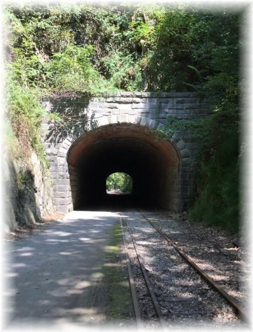 Howard Tunnel on York Heritage Rail Trail 9/8/15
