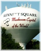 Kennett Square PA water tower