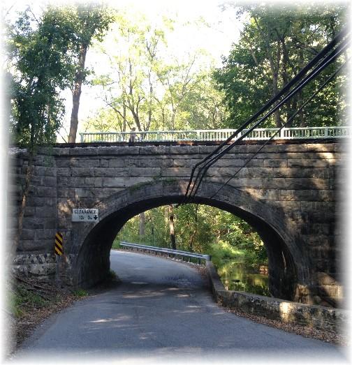 Stone arch bridge along York Heritage Rail Trail 9/8/15