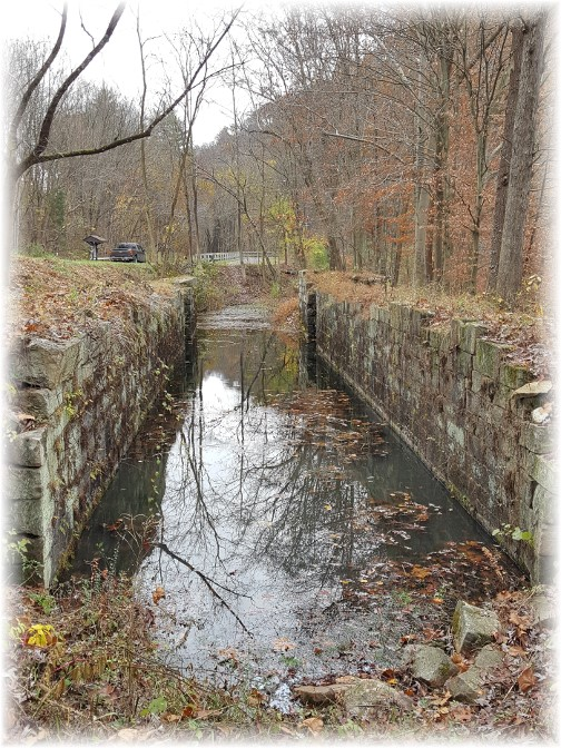 Union Canal lock ruins near Swatara Creek 11/7/17