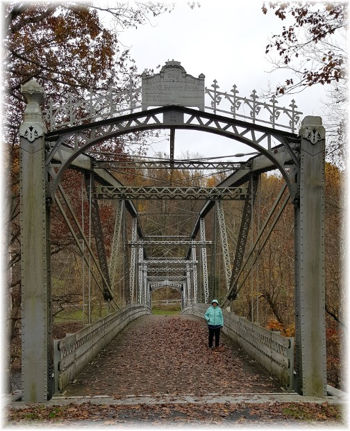 Waterville bridge over Swatara Creek 11/7/17