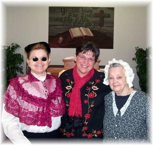 Debi Irene Wahl, Brooksyne, and Debi's mother