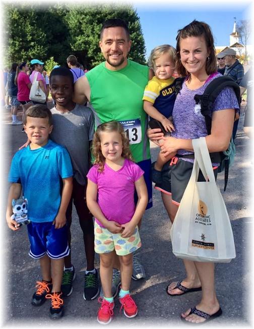Eric Martin family 9/16/17