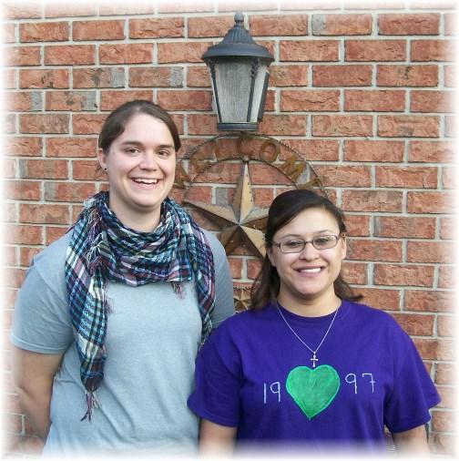 Ester with her friend Renee 6/21/13
