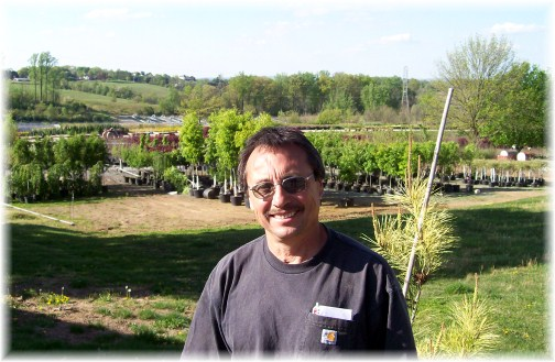 Keith Rodrigues, farm chaplain at Eaton Farms