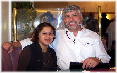 Paul Coran with Ester