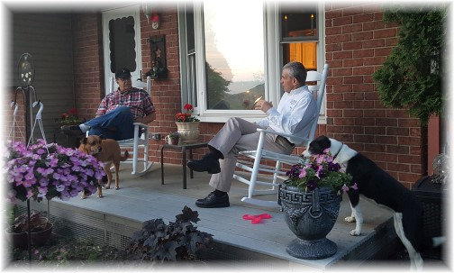 Visit with Rick Masciantonio 5/25/16