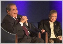 Scalia Ginsburg friendship