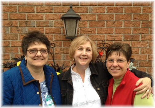 Sherry with friend Becky and Brooksyne 10/11/14