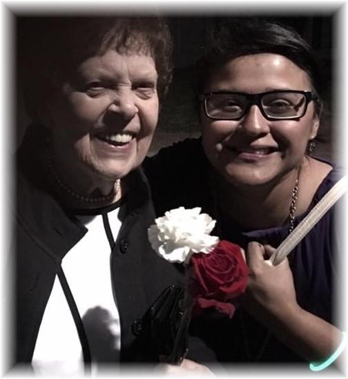 Veda Shibilo with Ester 6/17/16