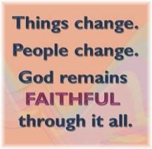 God remains faithful