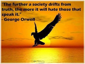 George Orwell quote on truth