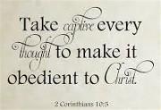 2 Corinthians 10:5