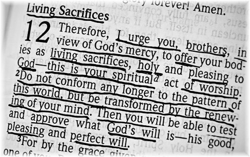 Romans 12:1,2