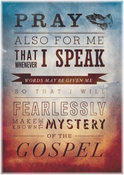 Ephesians 6:19 (from goproclaim.com)