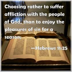 Hebrews 11:25