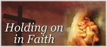 Holding on to faith
