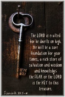 Isaiah 33:5,6