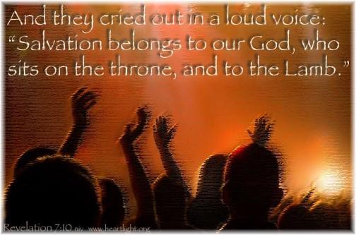 Revelation 7:10