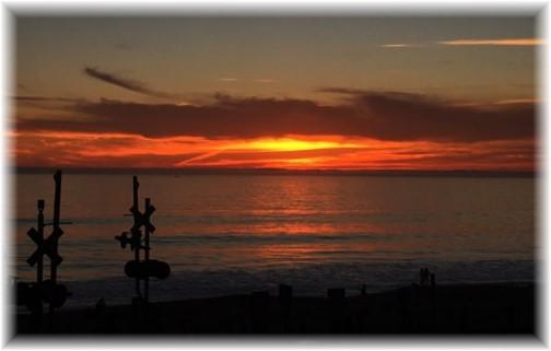 San Clemente sunset 10/22/16