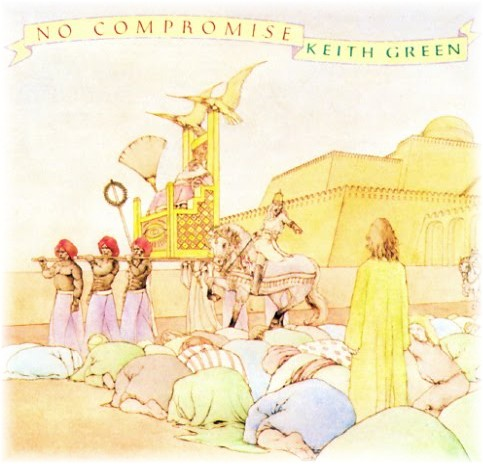 No compromise album cover