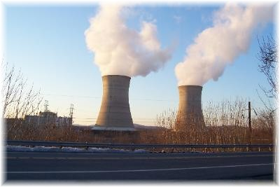 Photo of Three Mile Island nuclear power plant