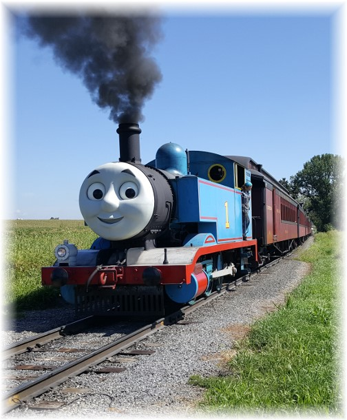 Thomas the Tank, Strasburg Railroad 8/30/16