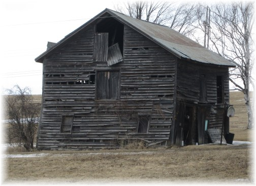 Old barn in northern New York