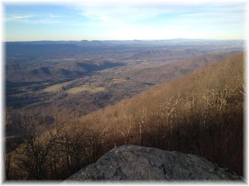 Blue Ridge Parkway vista 11-25-14