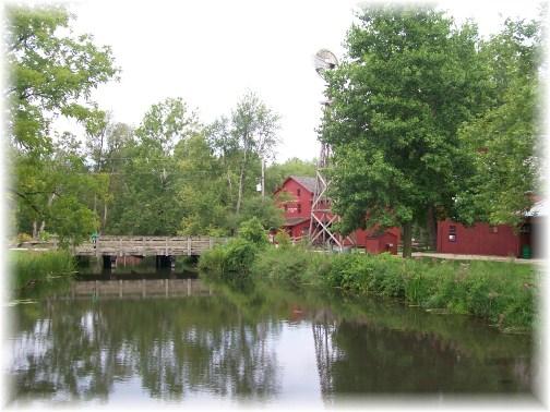 Bonneyville Mill near Middlebury Indiana