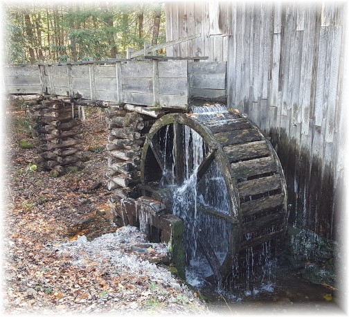 Cade's Cove water mill 11/21/16