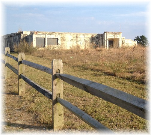 Battery Herring, an old WW2 gun battery on Cape Henlopen