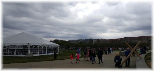 """David's tent"" near Washington Monument 3/25/16"