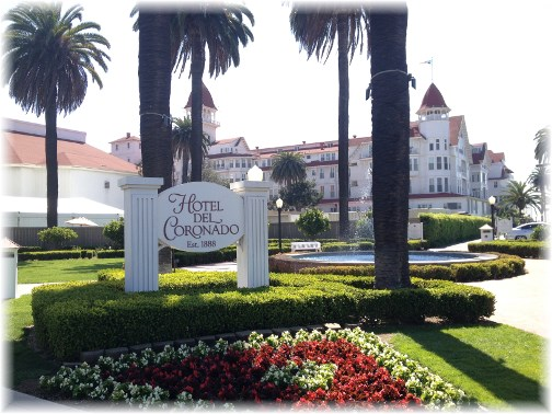 Hotel Del Coronado (click to enlarge)