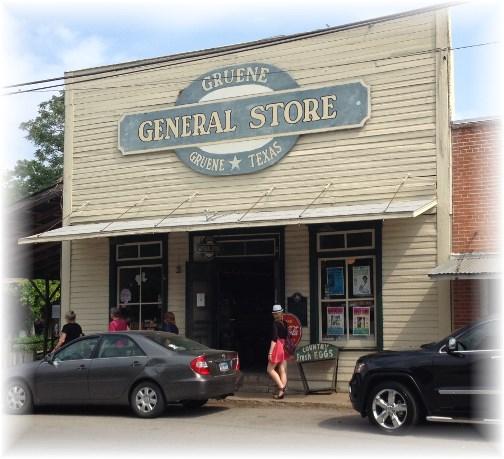 Gruene Texas General Store 4/27/14