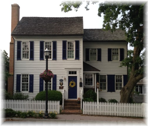 1740 Colonial home in Lewes Delaware 6/9/15