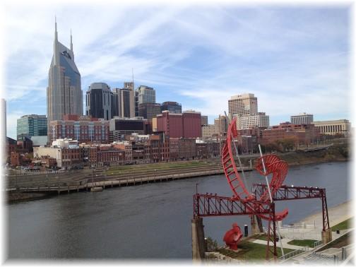 Nashville skyline 11/26/15