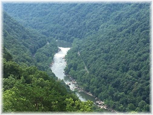 New River Gorge, WV 8/10/17