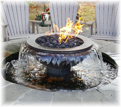 Pigeon Forge water/fire feature 11/22/16