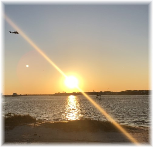 Saint Johns River sunset 3/14/18