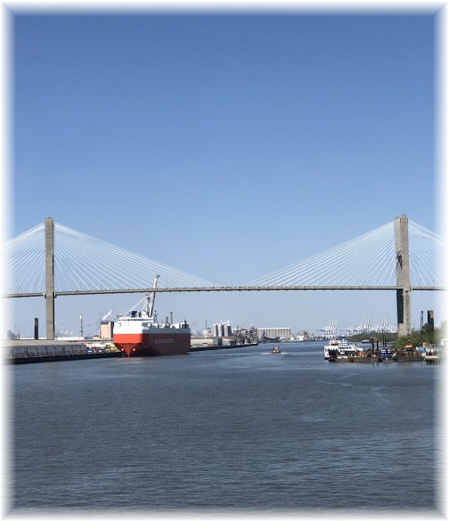 Bridge over Savannah River
