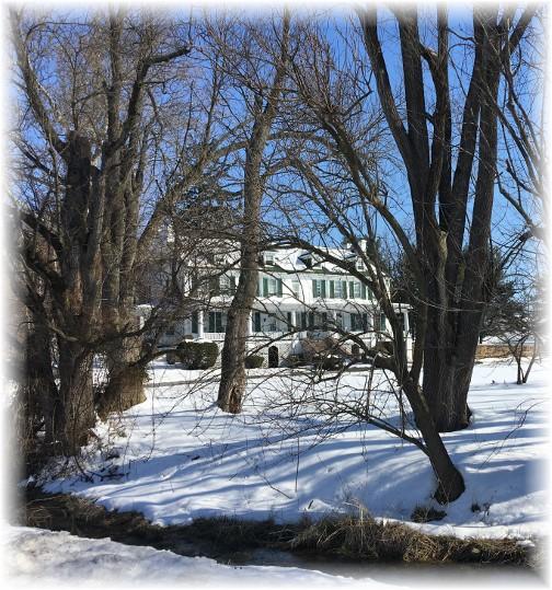 Lebanon County farmhouse 3/19/17 (Click to enlarge)