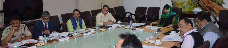 Mehbooba for synergised approach to improve traffic management in the State