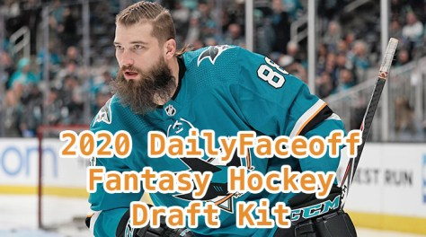 2020 DailyFaceoff Fantasy Hockey Draft Kit