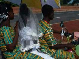 See Bride and Groom on Okada (Motorcycles) On Their Wedding Day That Got People Talking [Photos]