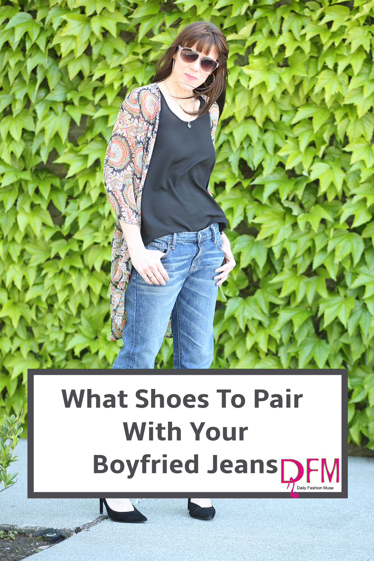 Struggling to figure out exactly what shoes to style with your boyfriend jeans? Click through to read my tips and discover you can wear them all.