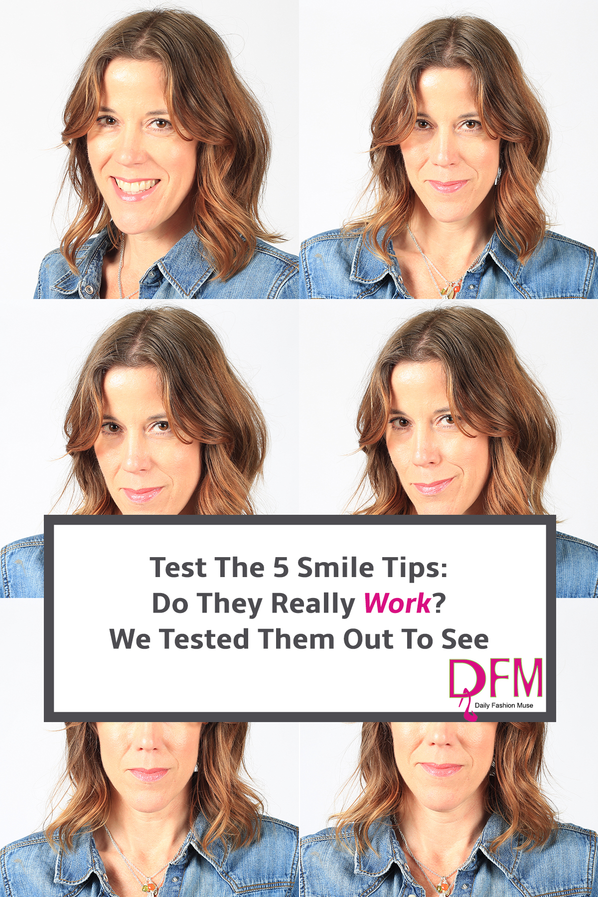 Wondering if the 5 smile tips actually make you smile better? Click through to see what happened when we tried the suggestions.